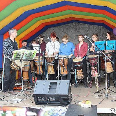 Die Percussiongruppe 2011